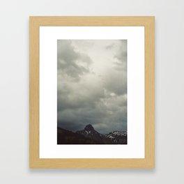 und dann Framed Art Print