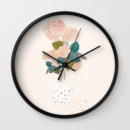 imaginary plant Wall Clock