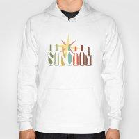 sin city Hoodies featuring Sin City by Chelsea Dianne Lott