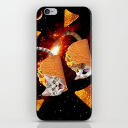 Taco Cats Space iPhone Skin