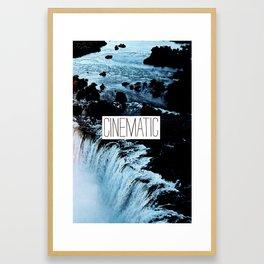 Cinematic Framed Art Print