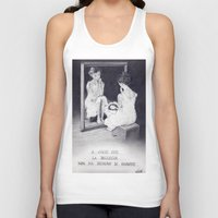 gift card Tank Tops featuring Gift by ClaM