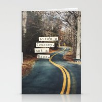 journey Stationery Cards featuring Journey by Brandy Coleman Ford