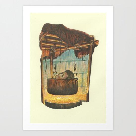 Tomb Art Print