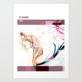 Et Fleure Art Print