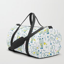Little gardener bear Duffle Bag