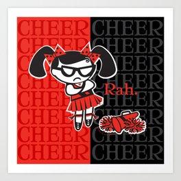 BAD GRACE: Big Cheer Art Print