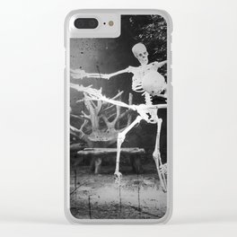 Dance of the Dead Clear iPhone Case