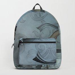 Wonderful fairy, blue colors Backpack
