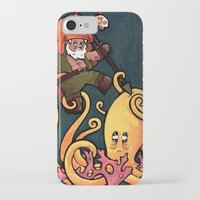 fight iPhone & iPod Cases featuring Fight by Matt Sinor