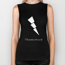 Thunderstruck Lightning Biker Tank