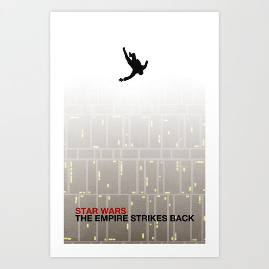The Empire Strikes Back (Mad Galaxy Series 2 of 3) Art Print