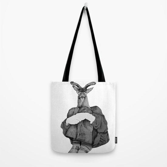 John (B&W) Tote Bag