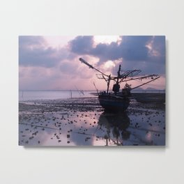 The Old Boat Metal Print