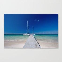 Cayo Blanco Canvas Print