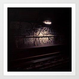 Metro#1 Art Print