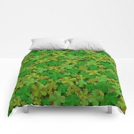 Lucky Clovers Comforters