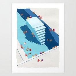 Meetup Art Print