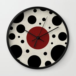 """Abstract Japanese Cow"" Wall Clock"