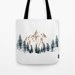 mountain # 4 Tote Bag