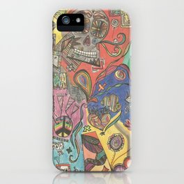 All Around the World iPhone Case