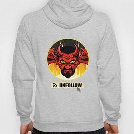 Devil Religion Unfollow Jesus God Gift Hoody