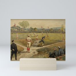 Vintage Baseball 1887 Mini Art Print