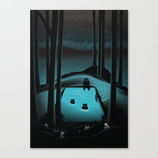 The Pool Canvas Print