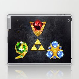 The Timeless Legend of Zelda Inspired Spiritual Stones Laptop & iPad Skin