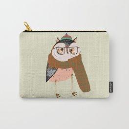 Owls Love Scarfs.  Carry-All Pouch