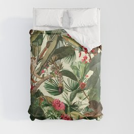 Monkey Forest Comforters