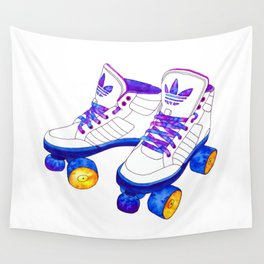 Roller Derby skaters Wall Tapestry