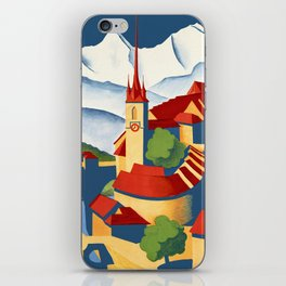 Vintage Bern Switzerland Travel iPhone Skin
