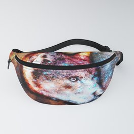 Space Wolf No2 Fanny Pack