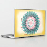 mandala Laptop & iPad Skins featuring Mandala by famenxt