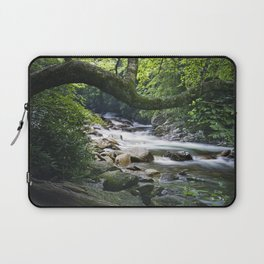 Smoky Mountain Stream in Tennessee Laptop Sleeve