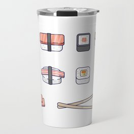 Sushi and Chopsticks Travel Mug