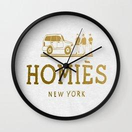 Homies NY Wall Clock