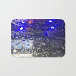 Car Wash Raindrops Bath Mat