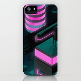 Nippon 2061 Portrait iPhone Case
