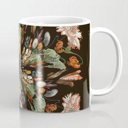Flemish Floral Mandala 3 Coffee Mug