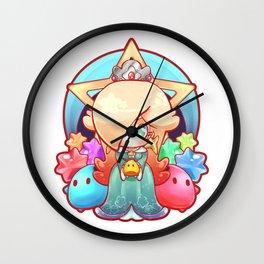 Rosalina Badge Wall Clock