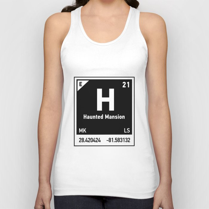 elements of H (Haunted Mansion) Unisex Tank Top
