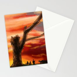 Dead Tree - Color Stationery Cards