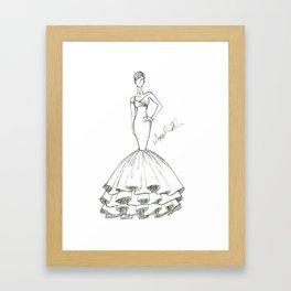 LBG Illustration Framed Art Print