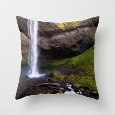 latourell falls. Throw Pillow