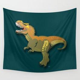 Dinosaur - 'A Fantastic Journey' Wall Tapestry