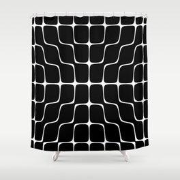 Energy Vibration 4. Frequency - Chladni - Cymatics Shower Curtain