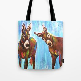 Donkeys Tote Bag