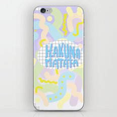Hakuna Matata Pastel  iPhone & iPod Skin